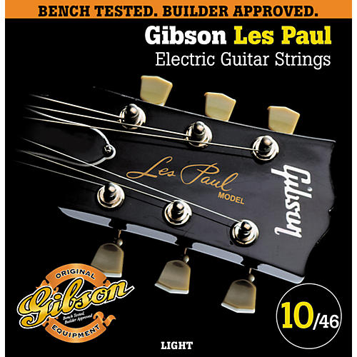 Gibson LP10 Les Paul Pure Nickel Light Electric Guitar Strings