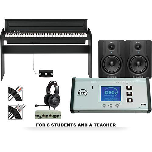 Korg LP180BK 88 Key Digital Piano Lab