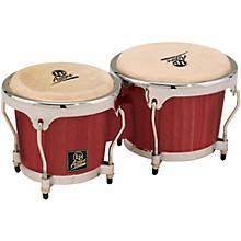 LP LPA601 Aspire Oak Bongos with Chrome Hardware