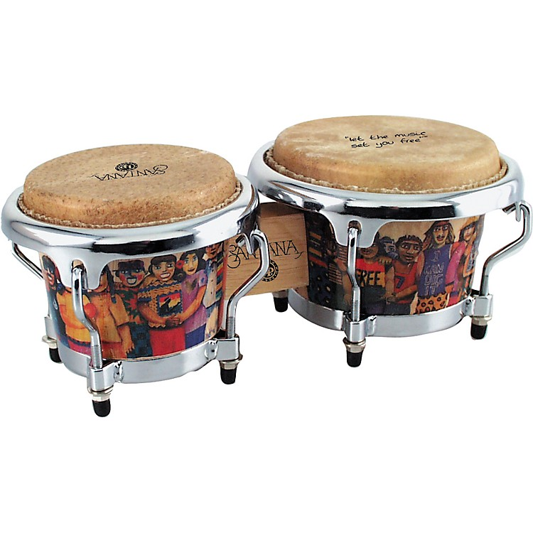LP LPM200 Santana Mini Tunable Bongos