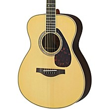 Open Box Yamaha LS16R L Series Solid Rosewood/Spruce Concert Acoustic-Electric Guitar