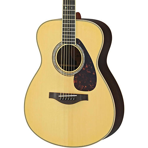 Yamaha LS16R L Series Solid Rosewood/Spruce Concert Acoustic-Electric Guitar-thumbnail