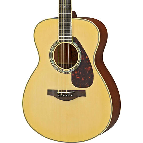 Yamaha LS6M L Series Mahogany/Spruce Concert Acoustic-Electric Guitar-thumbnail