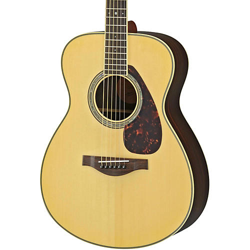 Yamaha LS6R L Series Rosewood/Spruce Concert Acoustic-Electric Guitar Natural
