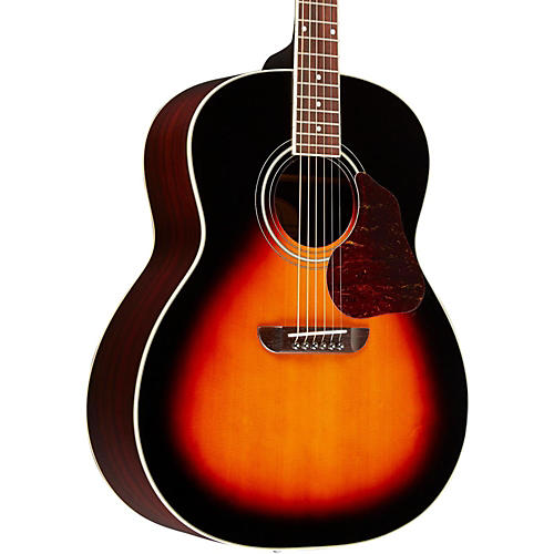 Washburn LSJ743 Lakeside Jumbo With Solid Spruce Top Rosewood Back and Sides Acoustic Guitar Vintage Tobacco Sunburst