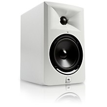 """JBL LSR305-WH 5"""" Powered Studio Monitor - Limited Edition White Level 1"""