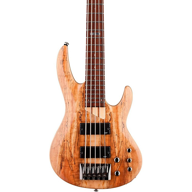 ESP LTD B-205SM 5-string Electric Bass Guitar Natural Satin