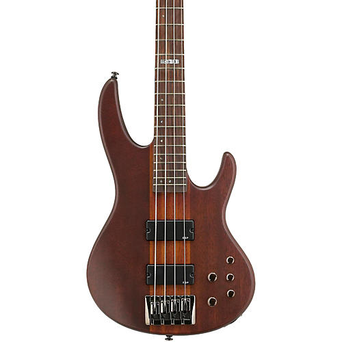 ESP LTD D-4 Bass Guitar Natural Satin