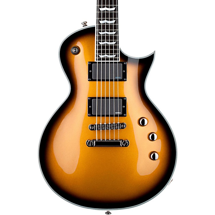 ESPLTD Deluxe EC-1000 Electric GuitarMetallic Gold Sunburst