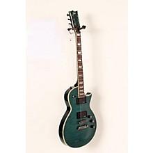ESP LTD EC-401QMV Electric Guitar Level 2 See-Thru Aqua 190839008152