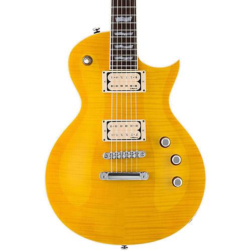 ESP LTD EC-401VF Electric Guitar with DiMarzio Pickups Lemon Drop