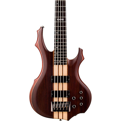 ESP LTD F-5E 5-String Bass Guitar Satin Natural