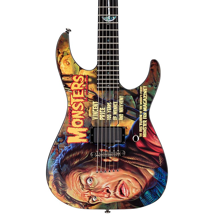 ESPLTD FM Vincent Price Electric Guitar