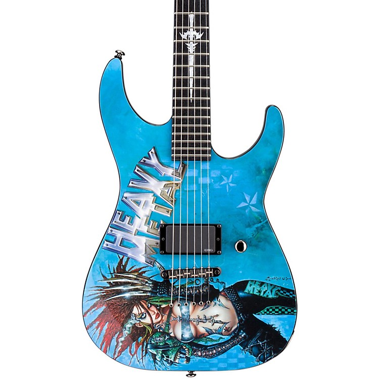 ESP LTD Heavy Metal 1 Electric Guitar Graphic