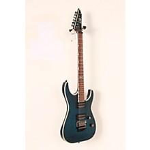 ESP LTD MH-401QM Electric Guitar Level 2 See-Thru Blue 888366010907
