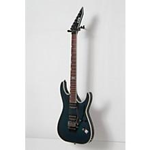 ESP LTD MH-401QM Electric Guitar Level 2 See-Thru Blue 888366028544