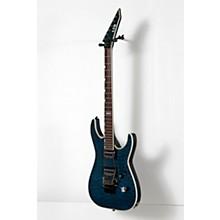 ESP LTD MH-401QM Electric Guitar Level 2 See-Thru Blue 888366032893
