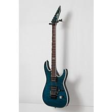 ESP LTD MH-401QM Electric Guitar Level 2 See-Thru Blue 888366040317