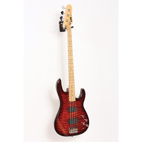 ESP LTD SURVEYOR-414 Quilted Maple 4-String Electric Bass Guitar-thumbnail