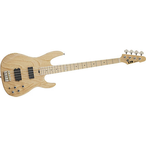 ESP LTD Surveyor-414 Electric Bass Guitar Natural