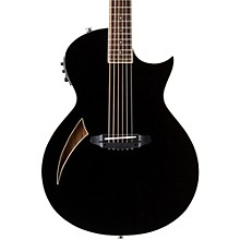 ESP LTD TL-6 Thinline Acoustic-Electric Guitar Black