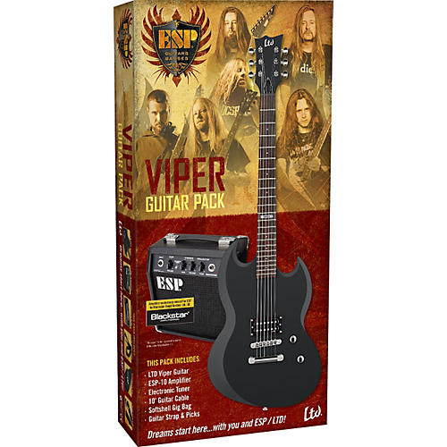ESP LTD Viper Electric Guitar Value Package