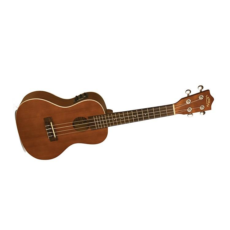 LanikaiLU Series LU-21CEK Concert Acoustic-Electric Ukulele with Fishman Kula ElectronicsNatural