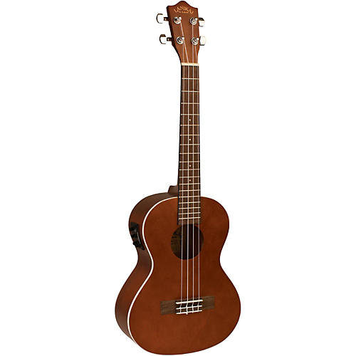 Lanikai LU Series LU-21TEK Tenor Acoustic-Electric Ukulele with Fishman Kula Electronics-thumbnail