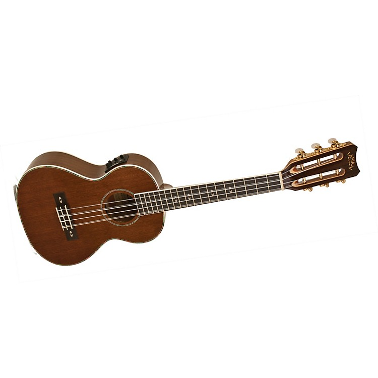 Lanikai LU Series LU-6EK 6-String Tenor Acoustic-Electric Ukulele with Fishman Kula Electronics