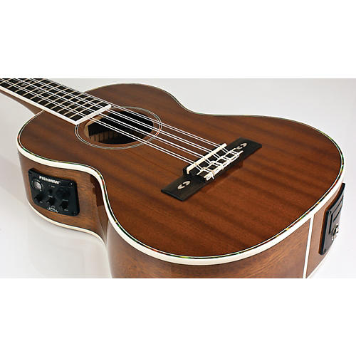 Lanikai LU Series LU-8EK 8-String Tenor Acoustic-Electric Ukulele with Fishman Kula Electronics