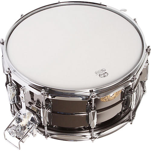 Ludwig LUDWIG LB418 BLACK BEAUTY SNARE WITH SUPER SENSITIVE SNARES 14X5IN  14 x 6.5 in.