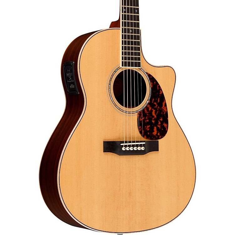 Larrivee LV-09E Rosewood Select Series Cutaway Acoustic-Electric Guitar Natural Rosewood