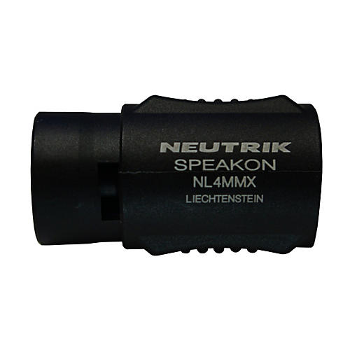 Live Wire LWNL4MMX Neutrik NL4MMX Speakon Coupler (PR)