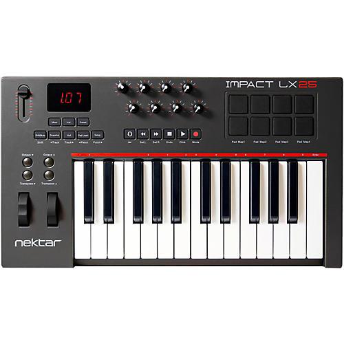 Nektar LX25 25-Key USB MIDI Controller Keyboard