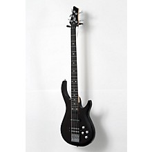 Rogue LX405 Series III Pro 5-String Electric Bass Guitar Level 2 Transparent Black 190839083708