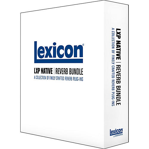 Lexicon LXP Native Reverb Bundle Software