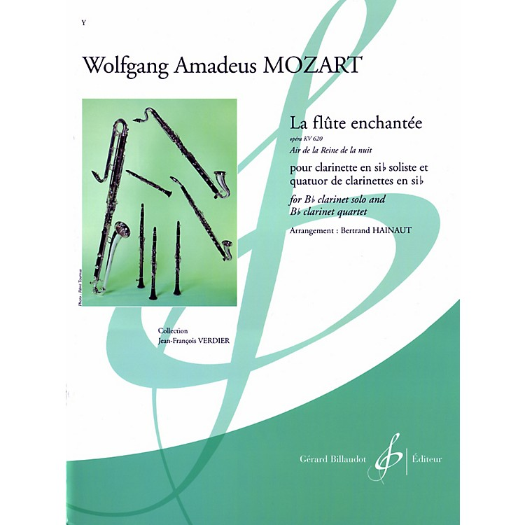 Theodore PresserLa Flute Enchantee (Air De La Reine De La Nuit) (Book + Sheet Music)