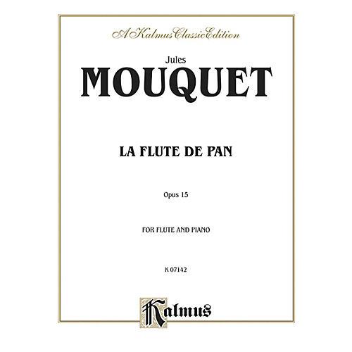 Alfred La Flute de Pan Op. 15 for Flute By Jules Mouquet Book