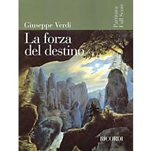 Ricordi La Forza del Destino (Opera Full Score) Study Score Series Composed by Giuseppe Verdi