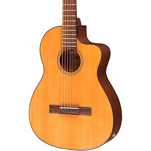 Cordoba La Playa Travel Half-Size Acoustic-Electric Steel String Guitar-thumbnail