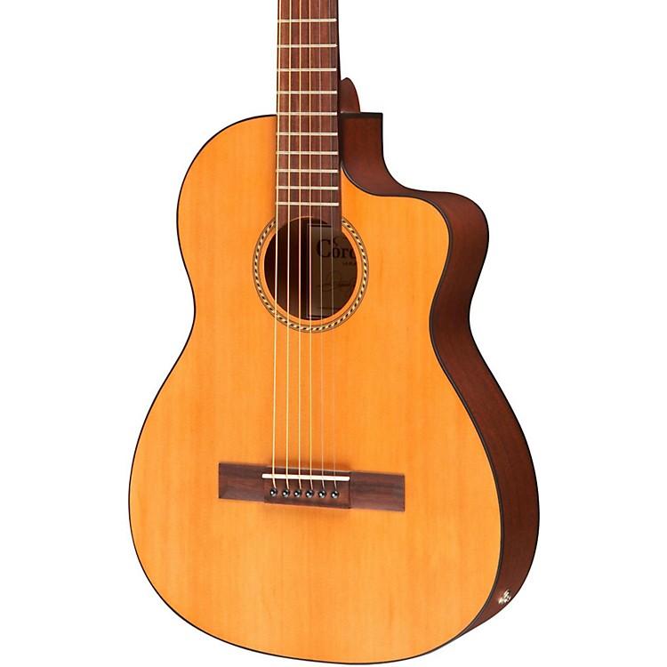 CordobaLa Playa Travel Half-Size Acoustic-Electric Steel String GuitarNatural