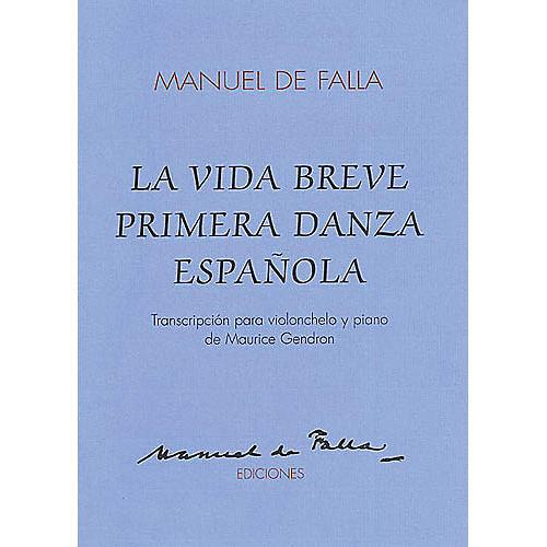 Union Musicale La Vida Breve Primera Danza Espanola (for Cello and Piano) Music Sales America Series-thumbnail