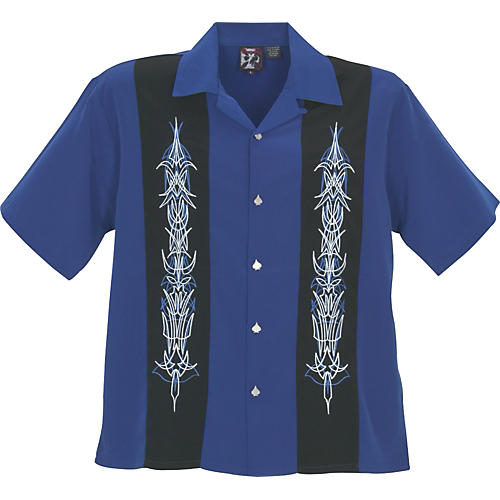 Dragonfly Clothing Company Laces Woven Panel Shirt