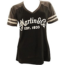 Martin Ladies Game V-Neck Tee Small