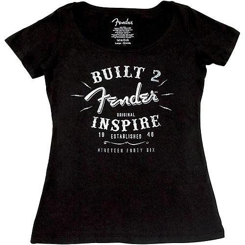 Fender Ladies Inspire T-Shirt Large Black