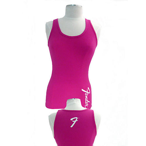 Fender Ladies Pink Amp Logo Tank