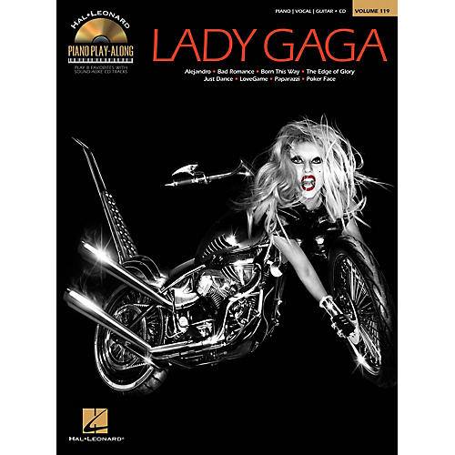 Hal Leonard Lady Gaga - Piano Play-Along Volume 119 Book/CD