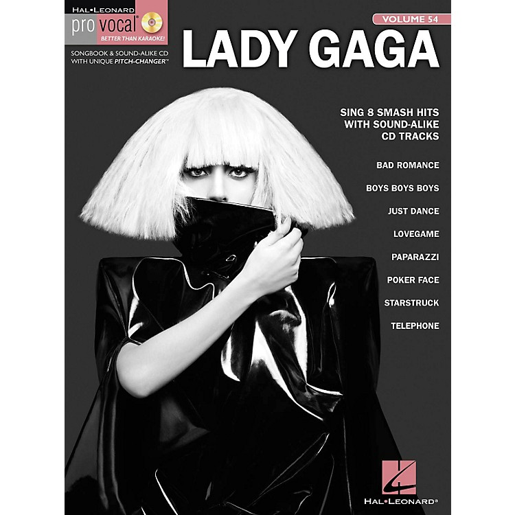 Hal Leonard Lady Gaga - Pro Vocal Women's Edition, Volume 54 Songbook