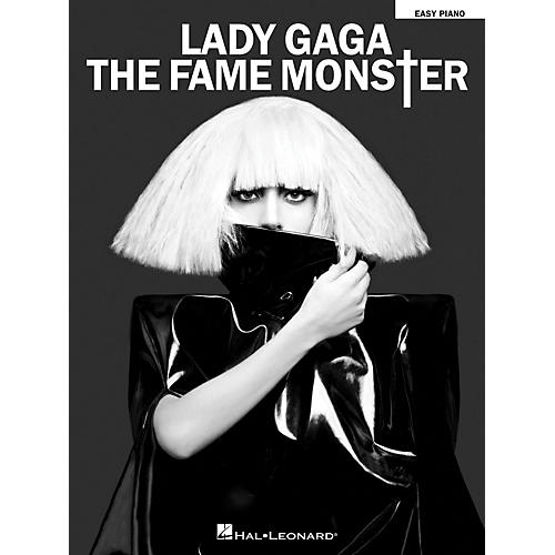 Hal Leonard Lady Gaga - The Fame Monster for Easy Piano