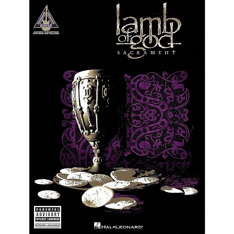Hal LeonardLamb of God - Sacrament Guitar Tab Songbook